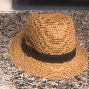 bca4d38593115 Ann Taylor Accessories - Ann Taylor Straw Panama Hat